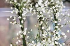 Bridesmaids' flower crowns